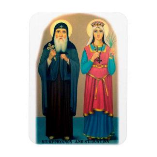 Shining magnet of Is Cipriano and Santa Justina