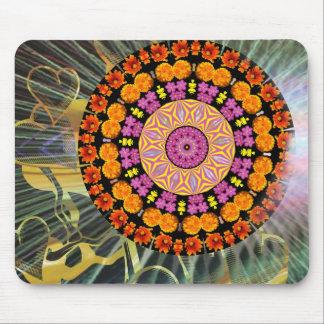 Shining Mandala Mouse Pad