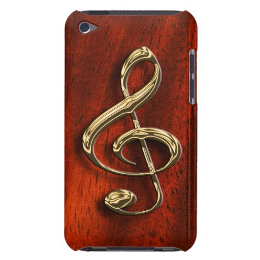 Shining Musical Symbol iPod Case Barely There iPod Covers