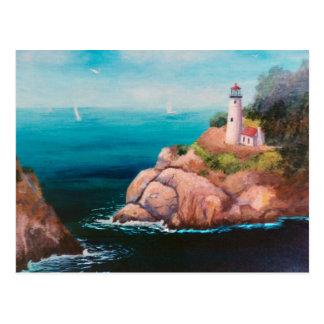 Shining Point Lighthouse Postcard