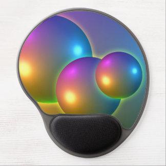 Shining Spheres Gel Mouse Mats