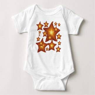 Shining Star - graphic design Baby Bodysuit
