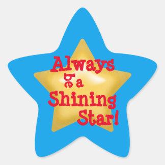 Shining Star Star Sticker