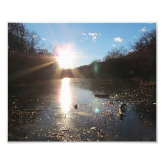 Shining Sun Art Photo