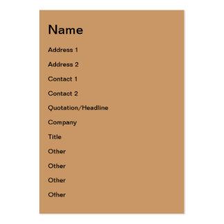 Shining sun business card template