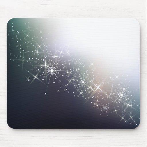 Shining winter mousepad