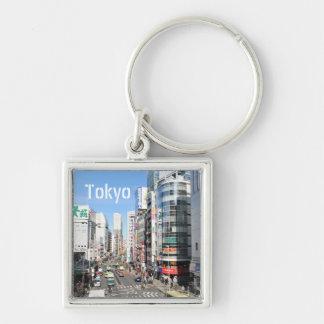 Shinjuku district in Tokyo, Japan Key Ring