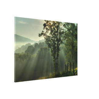 Shinning Light Gallery Wrap Canvas