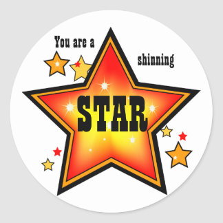 Shinning Star Award Sticker