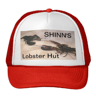 Shinn's Lobster Hut Hats