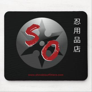 Shinobi Outfitters Kanji & Logo Mousepad 2