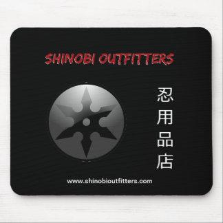 Shinobi Outfitters Kanji Logo Mousepad