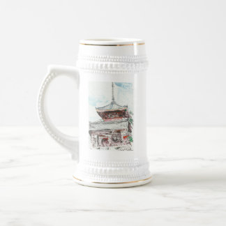 Shintennouji Temple Kyoto Japan Beer Stein