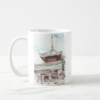 Shintennouji Temple Kyoto Japan Coffee Mug