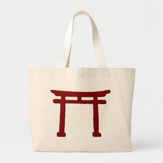 Shinto Gate Large Tote Bag