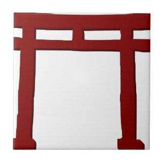 Shinto Gate Tile