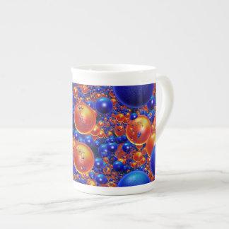 Shiny 3D balls Bone China Mug