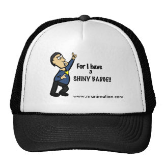Shiny Badge Hat