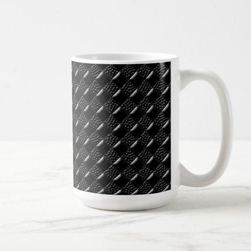 Shiny Black Coffee Mugs