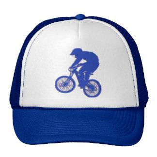 Shiny Blue BMX Hat