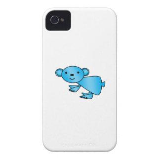 Shiny blue koala Case-Mate iPhone 4 cases