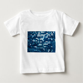 shiny blue sequins baby T-Shirt