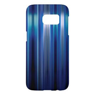 Shiny blue stripes pattern
