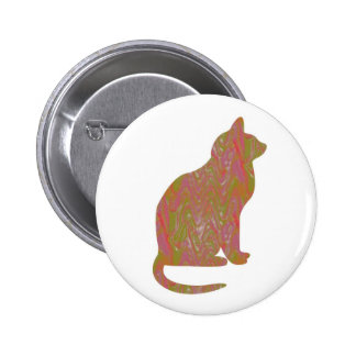 SHINY Brown CAT KIDS Love Kitty Kittens LOWPRICE Pin