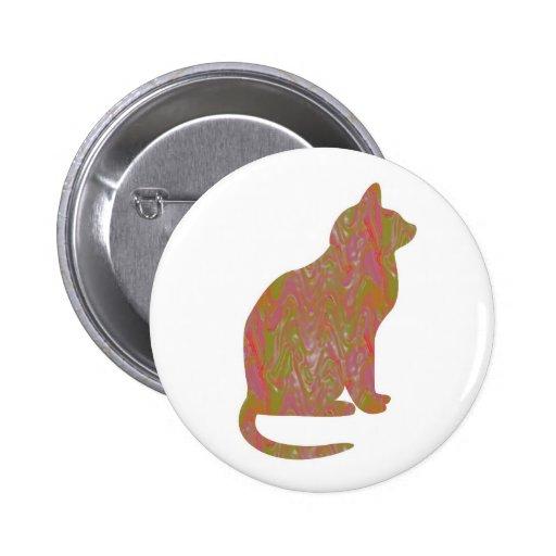 SHINY Brown CAT: KIDS Love Kitty Kittens LOWPRICE Pin