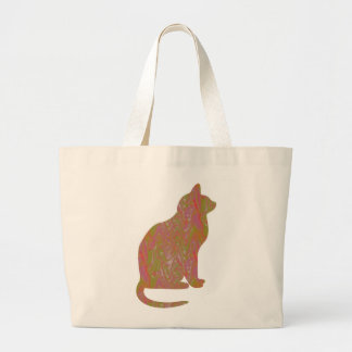 SHINY Brown CAT: KIDS Love Kitty Kittens LOWPRICE Tote Bag