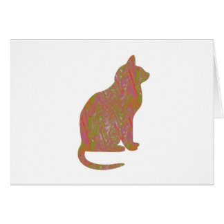 SHINY Brown CAT KIDS Love Kitty Kittens LOWPRICE Cards