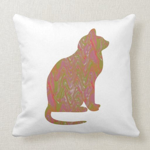 SHINY Brown CAT: KIDS Love Kitty Kittens LOWPRICE Pillows