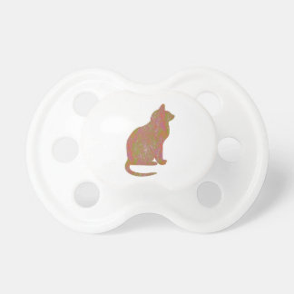 SHINY Brown CAT KIDS Love Kitty Kittens LOWPRICE Pacifier