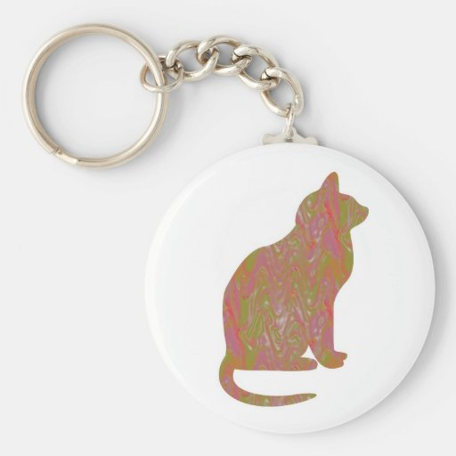 SHINY Brown CAT: KIDS Love Kitty Kittens LOWPRICE Keychains