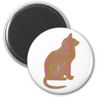 SHINY Brown CAT: KIDS Love Kitty Kittens LOWPRICE Magnets