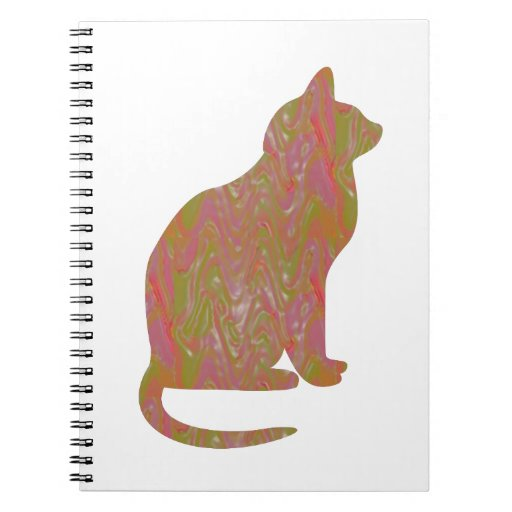 SHINY Brown CAT: KIDS Love Kitty Kittens LOWPRICE Spiral Notebook