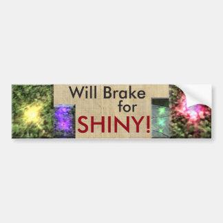 SHINY!! Bumper Sticker