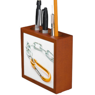 Shiny Chain Clip, Gold and Silver Colors Desk Organiser