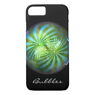 Shiny Christmas Circus Bubble Baubles iPhone 8/7 Case