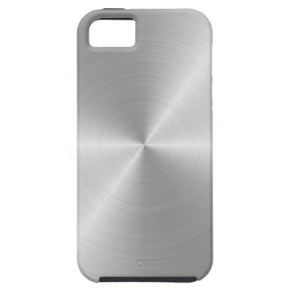 Shiny Circular Polished Metal Texture iPhone 5 Cover