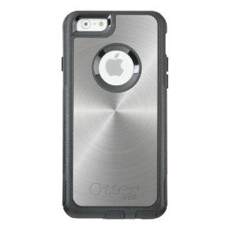 Shiny Circular Polished Metal Texture OtterBox iPhone 6/6s Case