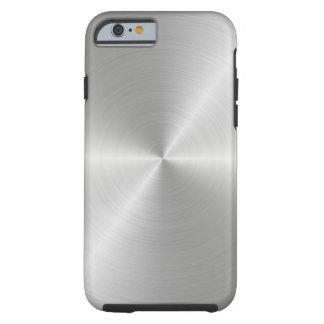 Shiny Circular Polished Metal Texture Tough iPhone 6 Case