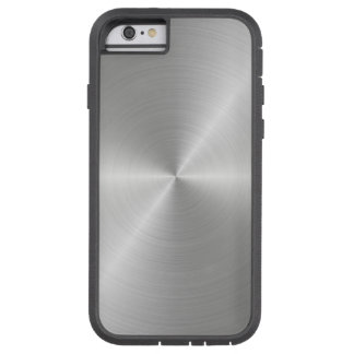 Shiny Circular Polished Metal Texture Tough Xtreme iPhone 6 Case