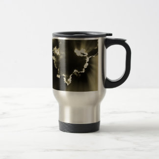 Shiny Cloud Stainless Steel Travel Mug