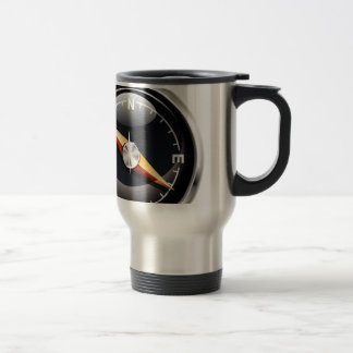 Shiny Compass Stainless Steel Travel Mug
