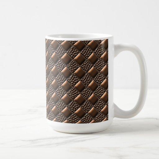 Shiny Copper Coffee Mugs