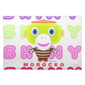 Shiny-Cute Monkey-Morocko Placemat