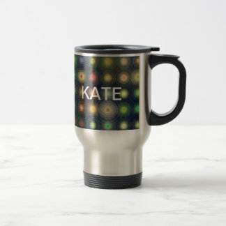 Shiny Disco dots Stainless Steel Travel Mug