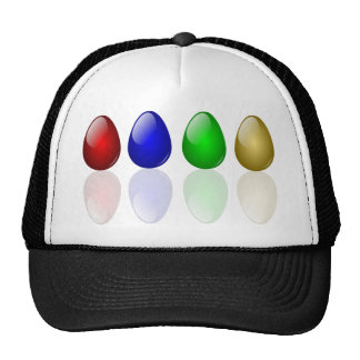 Shiny Easter Eggs Hat