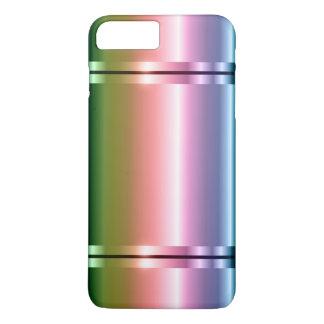 Shiny Faux Metal Gradient Purple To Green iPhone 8 Plus/7 Plus Case
